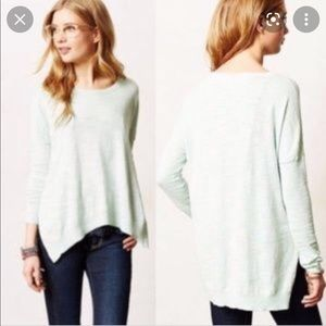 Moth mint pullover sweater